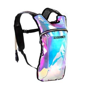 Handbags - Holographic Rave hydration pack backpack